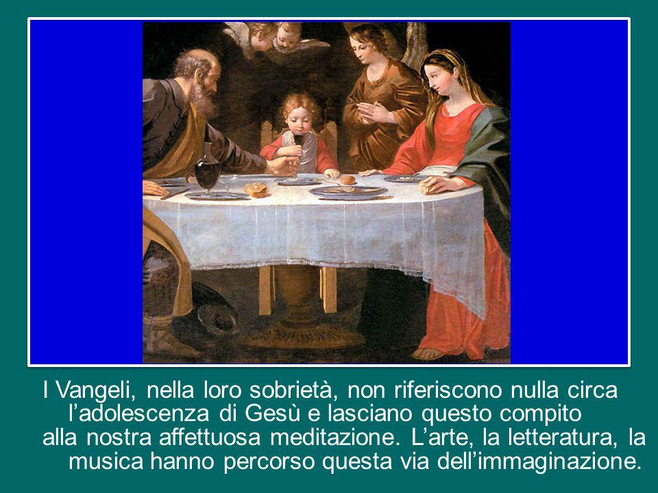 Erano grandi santi: Maria, la donna più santa, immacolata, e Giuseppe, l'uomo più giusto… La famiglia.