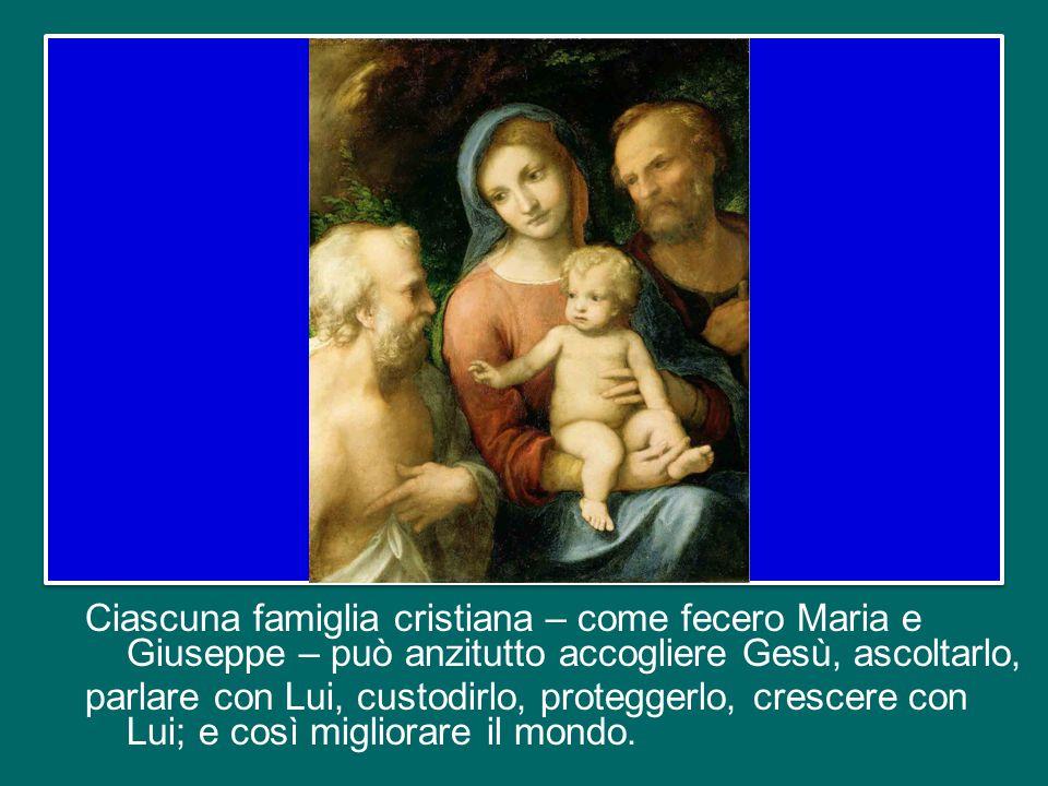 E Gesù ha coltivato in quei trent'anni la sua vocazione per la quale il Padre lo ha inviato.