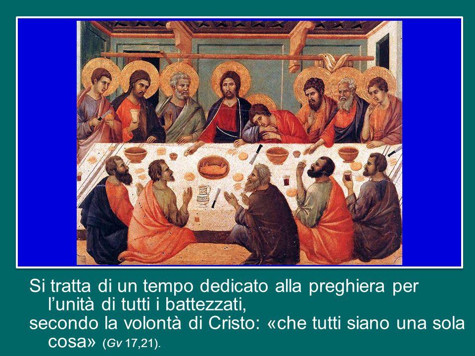 Sabato scorso è iniziata la Settimana di preghiera per l'unità dei cristiani, che si concluderà sabato prossimo, festa della Conversione di san Paolo apostolo.