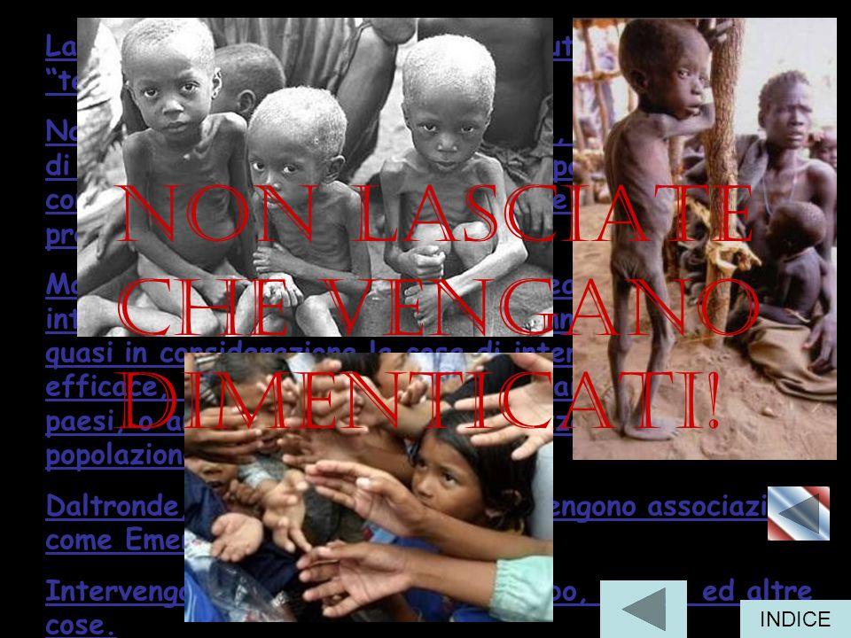 La malnutrizione è diffusa in quasi tutte le regioni del terzo mondo .