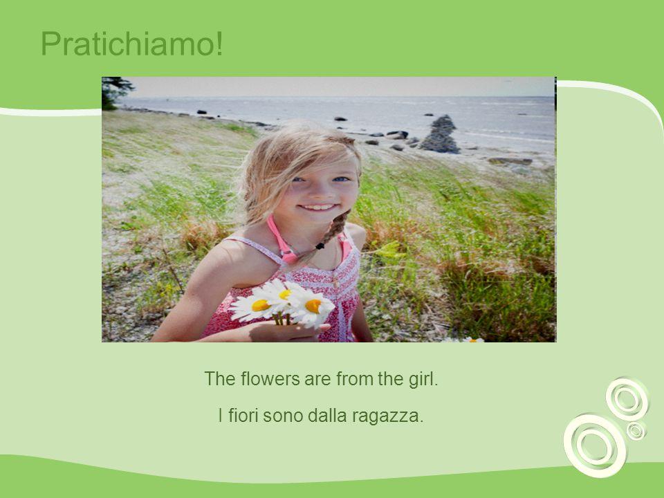 Pratichiamo! The film is about the storm (la tempesta) Il film e della tempesta.