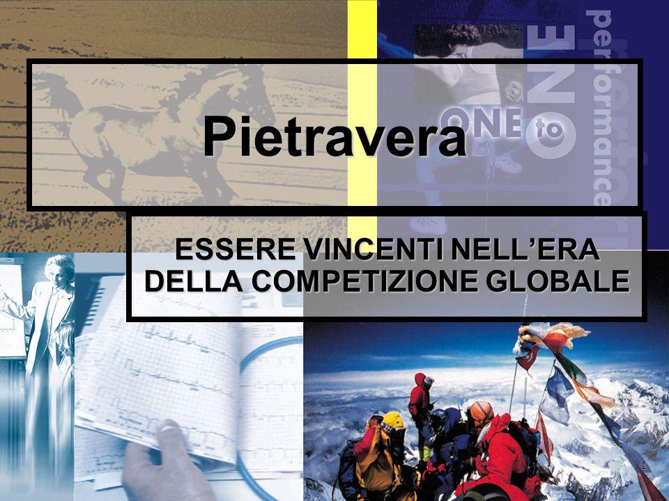 1 Pietravera ESSERE VINCENTI NELL'ERA DELLA COMPETIZIONE GLOBALE