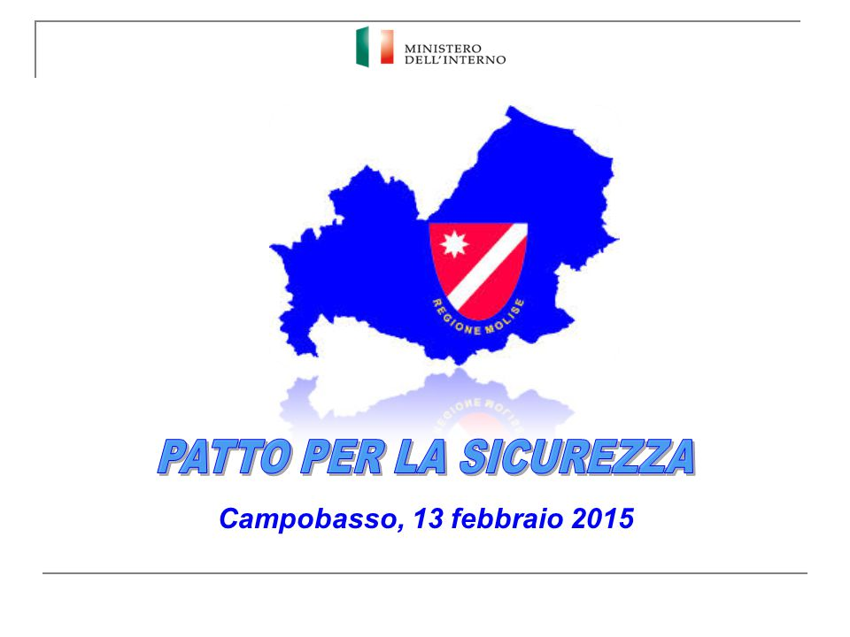 Campobasso, 13 febbraio 2015