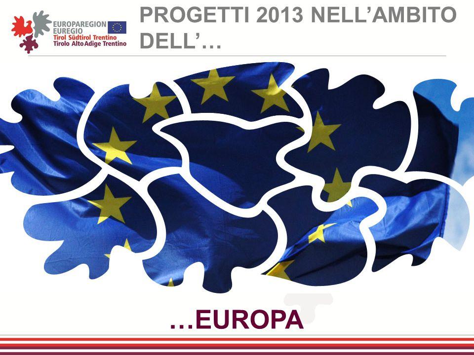 …EUROPA PROGETTI 2013 NELL'AMBITO DELL'…
