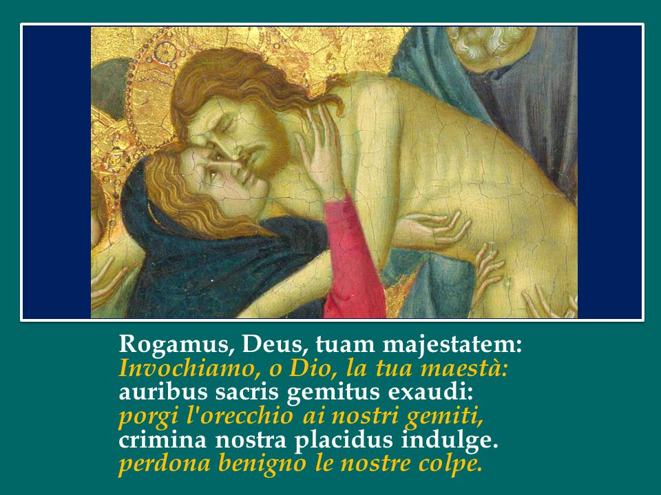 L'icona biblica che li esprime al meglio, nel loro profondo legame, è l'episodio del perdono e della guarigione del paralitico, dove il Signore Gesù si rivela allo stesso tempo medico delle anime e dei corpi