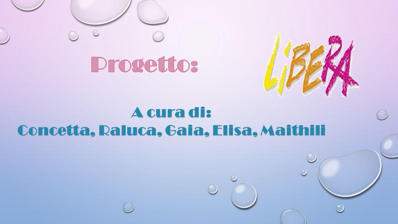 A cura di: Concetta, Raluca, Gaia, Elisa, Maithili
