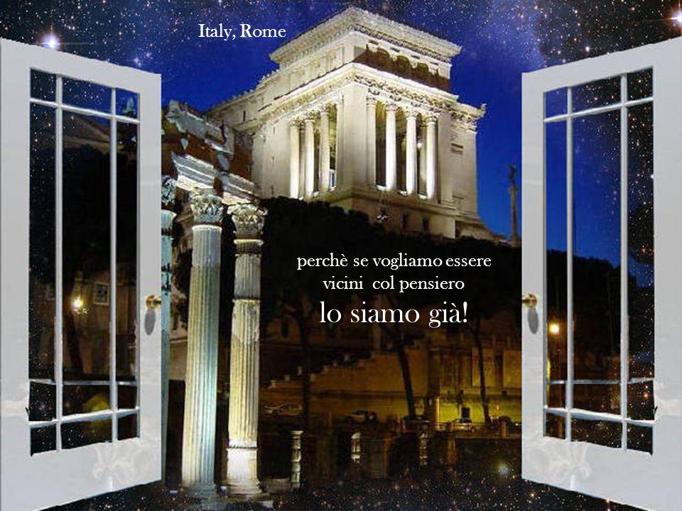 Nessun luogo sarà mai troppo lontano da impedire di stringerci in un grande abbraccio circolare Italy,Città del Vaticano
