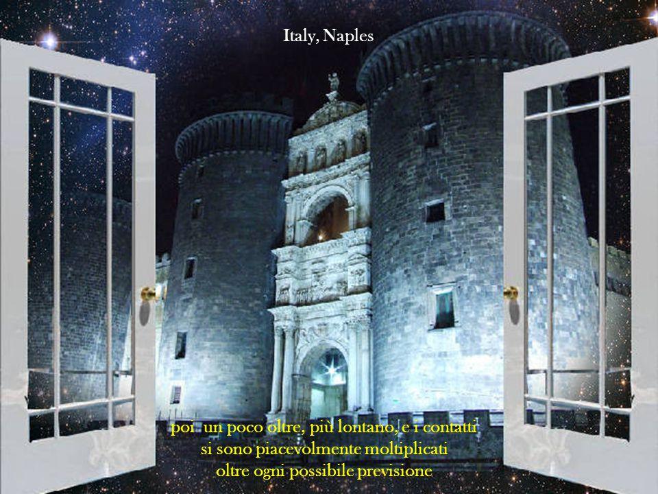 non sapendo cosa avrei trovato mi muovevo con timore, prima tra gli amici di sempre Italy, Florence