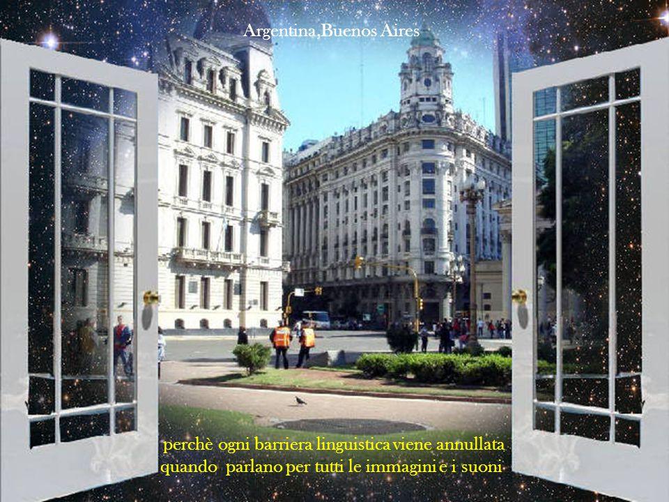 scoprendo un linguaggio comune, privo di parole, che è la voglia di condividere il bello, il buono e l'amicizia Argentina, Iguazu