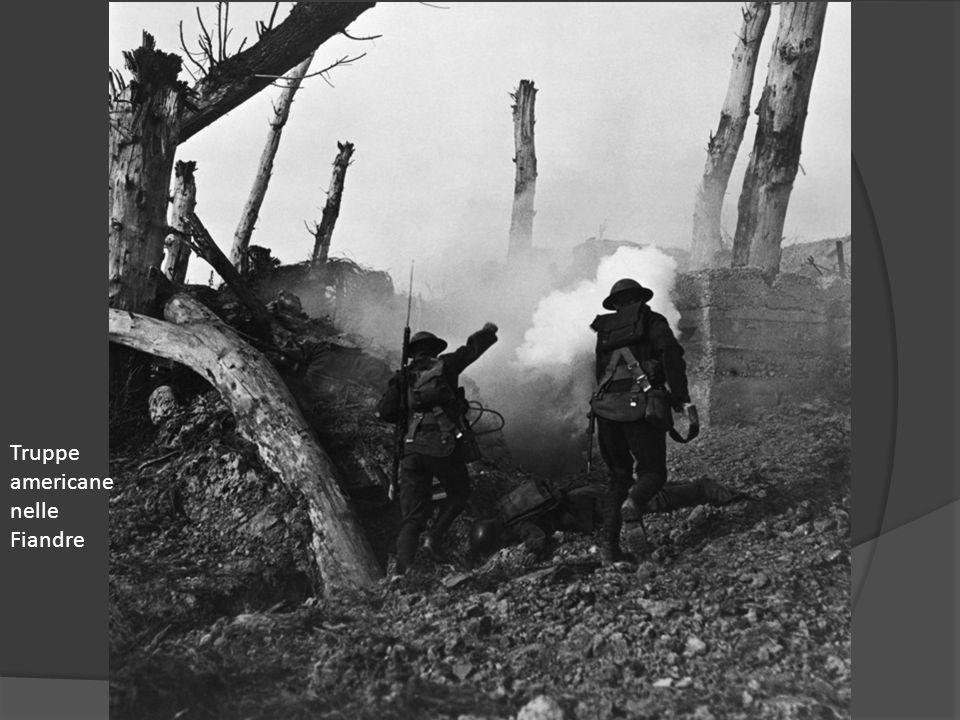Truppe americane nelle Fiandre