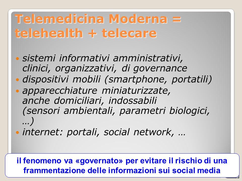CATALIS - integrazione socio-sanitaria, 03-06-2013 il fenomeno va «governato» per evitare il rischio di una frammentazione delle informazioni sui soci