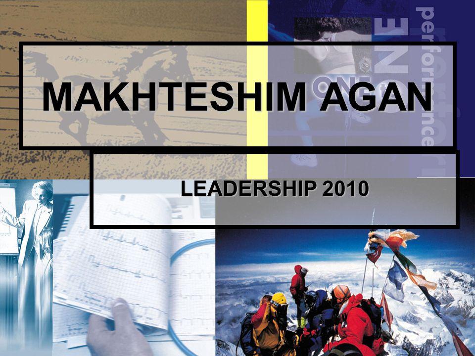 1 MAKHTESHIM AGAN LEADERSHIP 2010