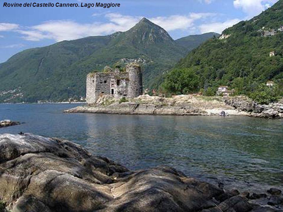 Lago Maggiore dal isola di Brissago