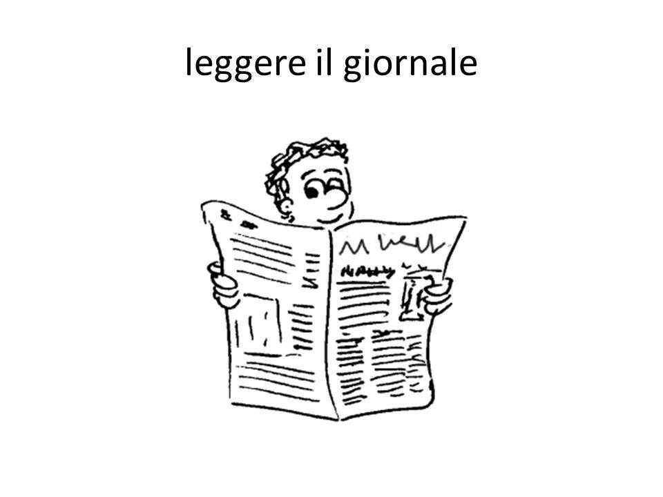 leggere il giornale