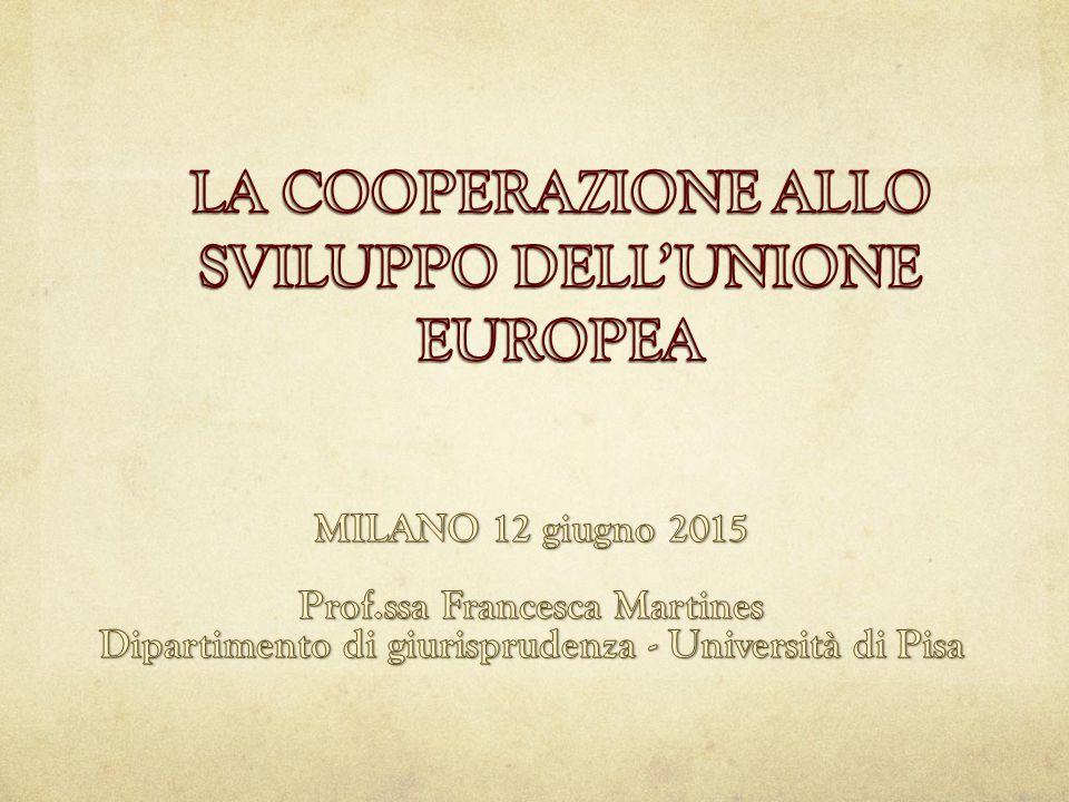 Di cosa parliamo quando parliamo di politica di cooperazione allo sviluppo (CSV) .