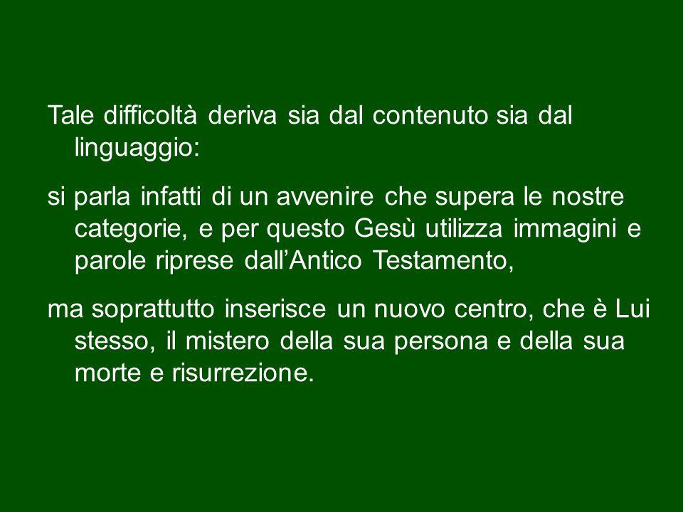 In questa penultima domenica dell'anno liturgico, viene proclamata, nella redazione di San Marco, una parte del discorso di Gesù sugli ultimi tempi (cfr Mc 13,24-32).