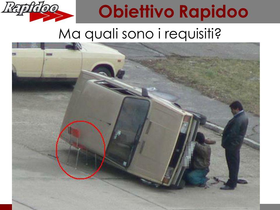 Obiettivo Rapidoo Qualificare la propria immagine ed il livello dei servizi offerti all'automobilista.