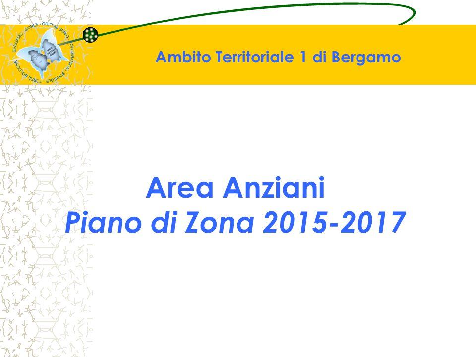 Area Anziani Piano di Zona 2015-2017 Ambito Territoriale 1 di Bergamo
