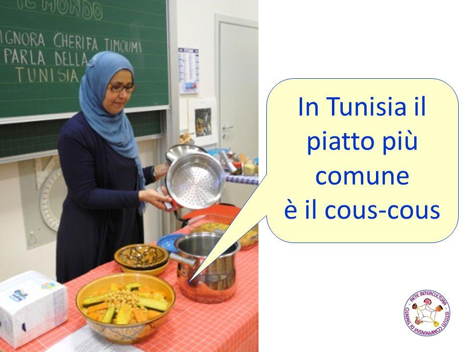 In Tunisia il piatto più comune è il cous-cous