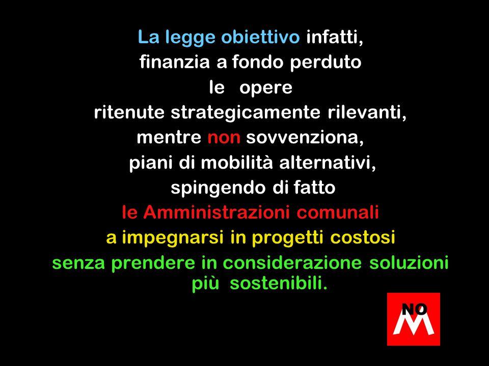 considerando che opere simili in altre città Italiane costano tra 41,7 mil.