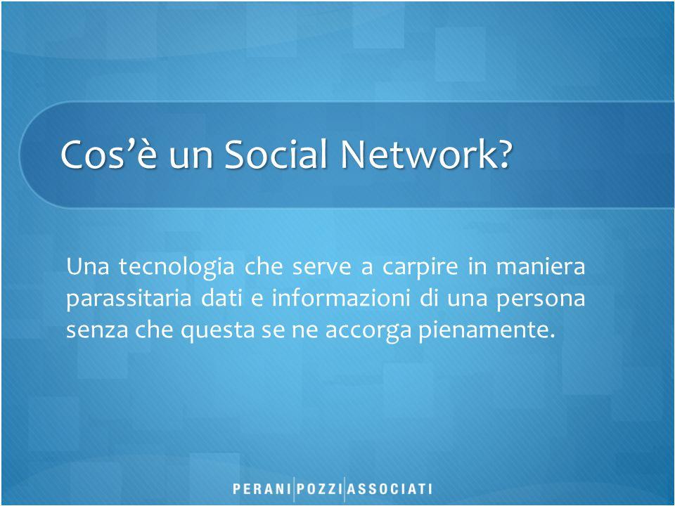 Cos'è un Social Network.