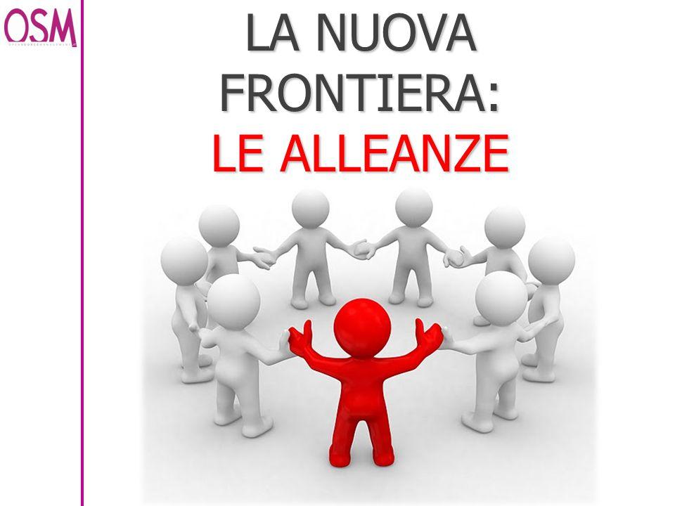 LA NUOVA FRONTIERA: LE ALLEANZE