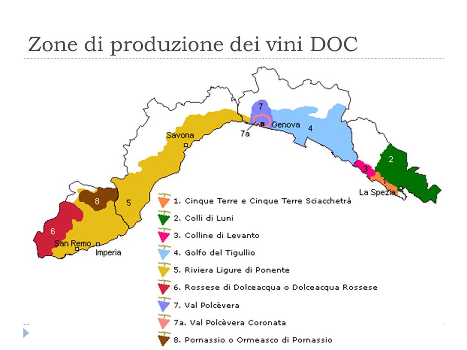 Riviera Ligure di Ponente (D.M. 31/3/1988 - G.U. n.25 del 31/1/1989)