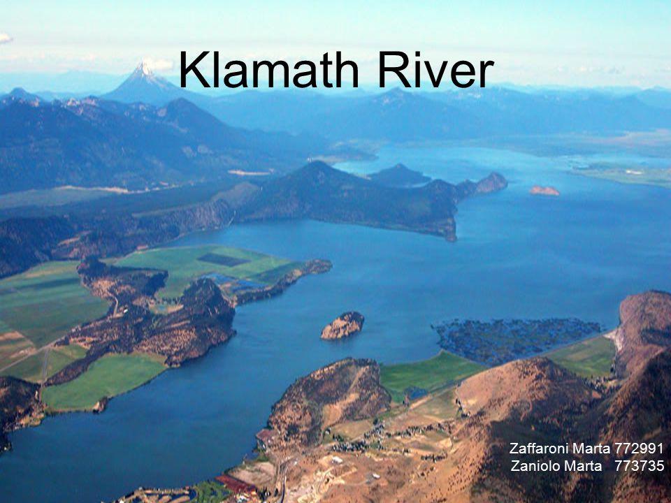 Klamath River Zaffaroni Marta 772991 Zaniolo Marta 773735