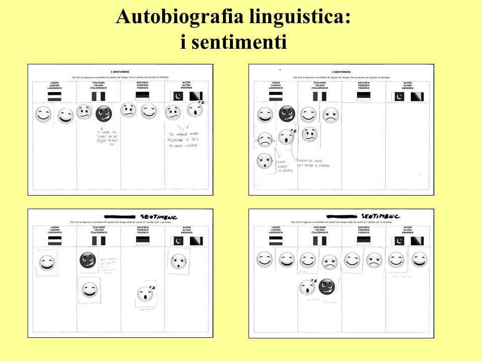Autobiografia linguistica: i sentimenti