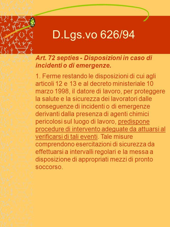 DESCRIZIONE DELLE FASI OPERATIVE INDIVIDUAZIONE DEI PERICOLI ISTRUZIONI DI SICUREZZA 8.