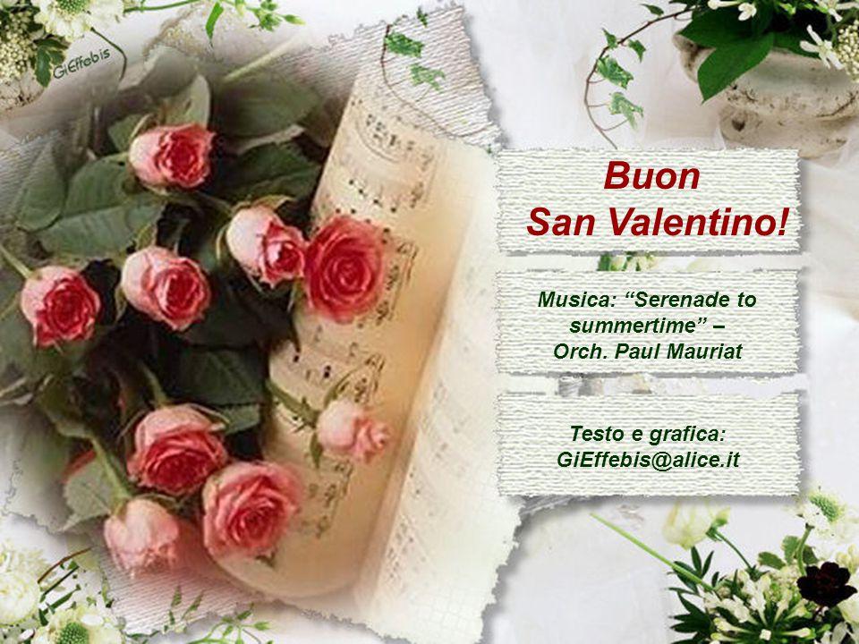 A te, innamorato/a, l'augurio sincero che l'amore che provi mantenga il tuo cuore sempre in festa!