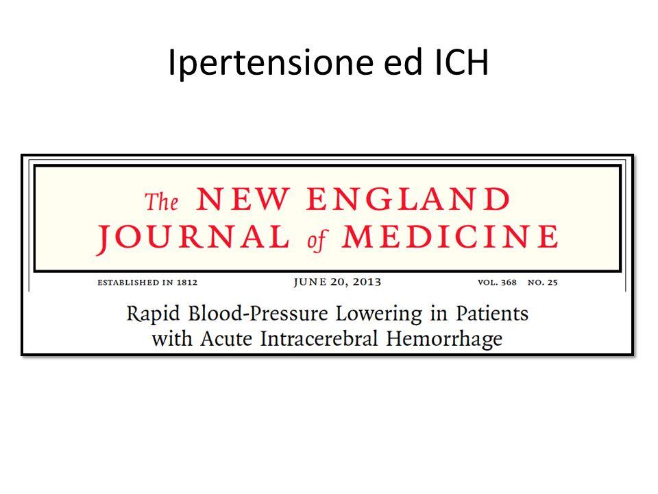 Ipertensione ed ICH