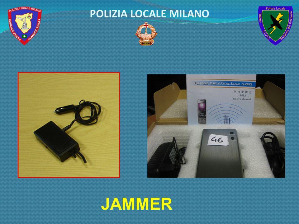 POLIZIA LOCALE MILANO JAMMER