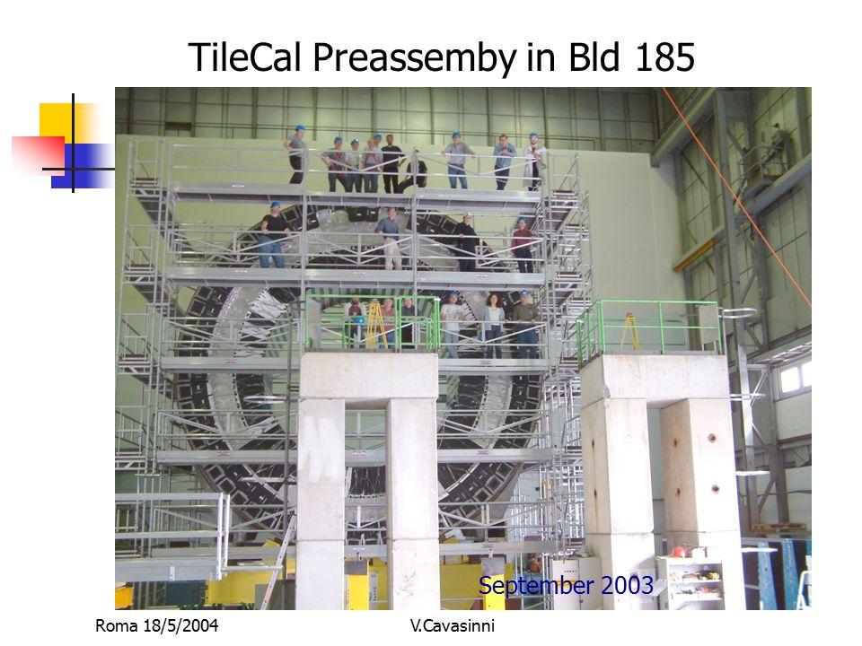 Roma 18/5/2004V.Cavasinni Una strategia per temporizzare TileCal (1) 1.Dobbiamo temporizzare tutti i segnali dei PMT meglio di 2 ns.