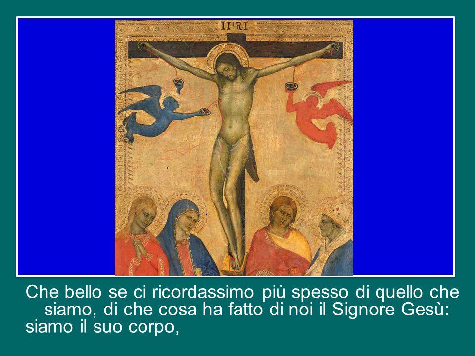 In questo senso, è illuminante come Paolo, esortando i mariti ad «amare le mogli come il proprio corpo», affermi: «Come anche Cristo fa con la Chiesa,