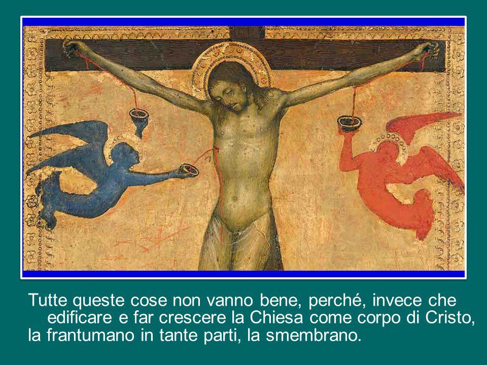 Al tempo di Paolo, la comunità di Corinto trovava molte difficoltà in tal senso, vivendo, come spesso anche noi, l'esperienza delle divisioni, delle invidie, delle incomprensioni e dell'emarginazione.