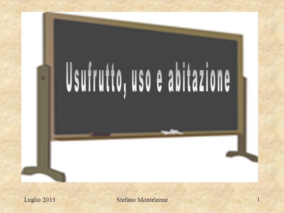Luglio 2013Stefano Monteleone 1