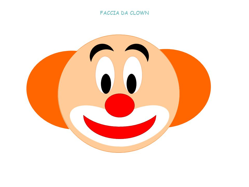 FACCIA DA CLOWN