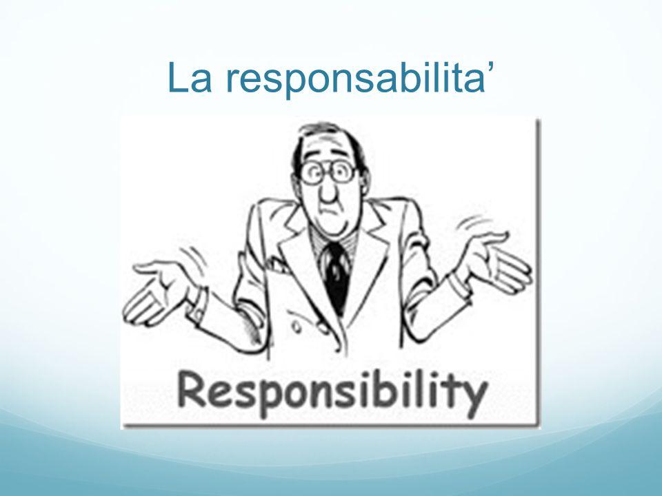 La responsabilita'