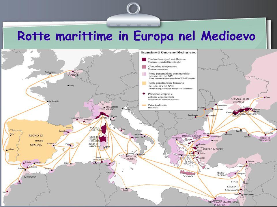 Ihr Logo Rotte marittime in Europa nel Medioevo