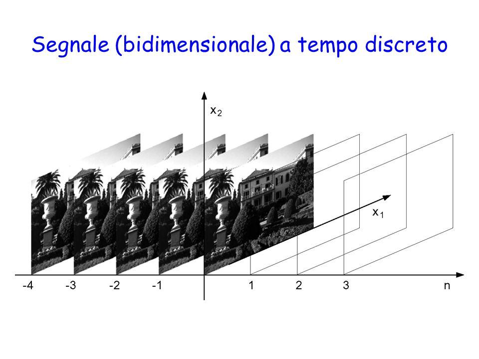 Segnale (bidimensionale) a tempo discreto