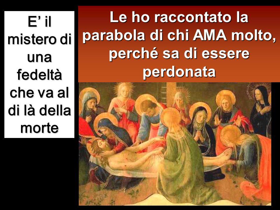 Gesù allora gli disse: «Simone, ho da dirti qualcosa». Ed egli rispose: «Di' pure, maestro». «Un creditore aveva due debitori: uno gli doveva cinquece
