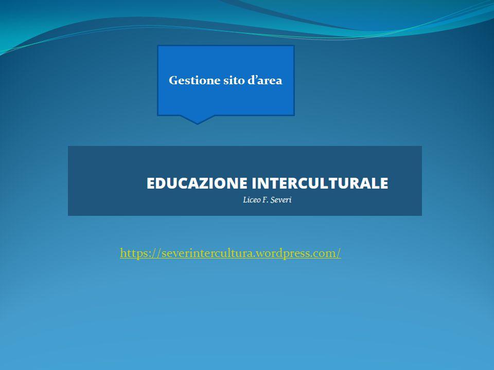 Gestione sito d'area https://severintercultura.wordpress.com/