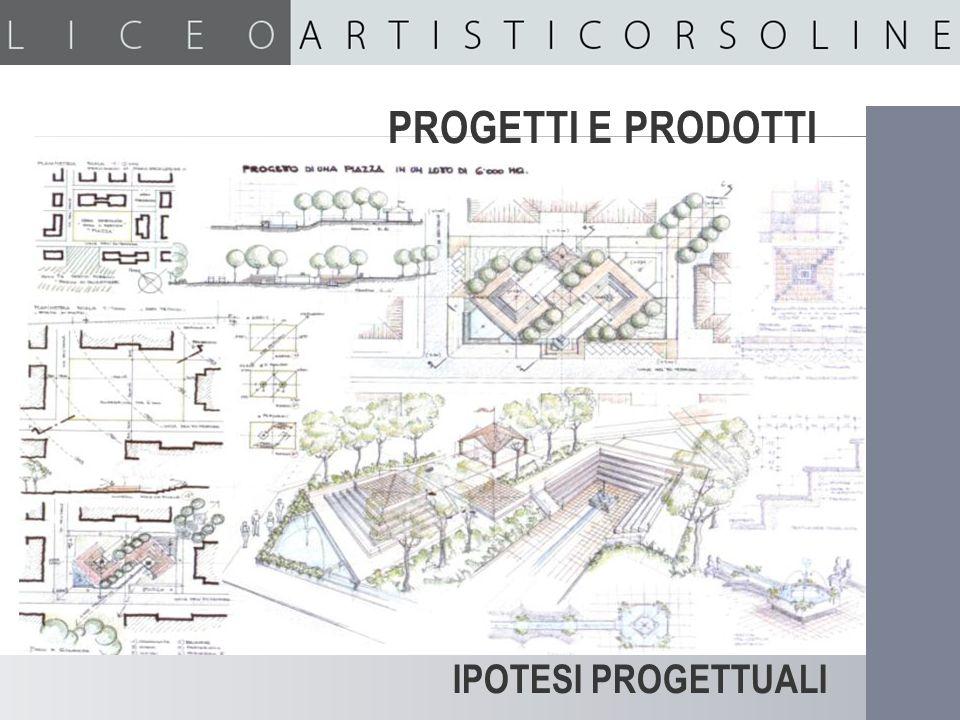 Ipotesi progettuali PROGETTI E PRODOTTI IPOTESI PROGETTUALI