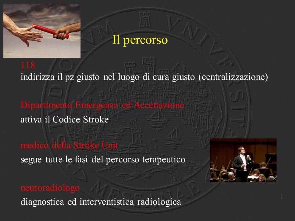 Trattamento Intra-Arterioso - Pz non eleggibili alla e.v.