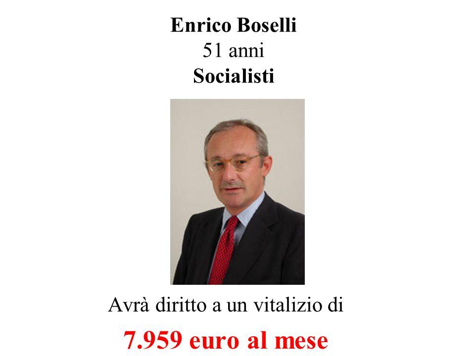 Oliviero Diliberto 52 anni Comunisti Avrà diritto a un vitalizio di 7.959 euro al mese