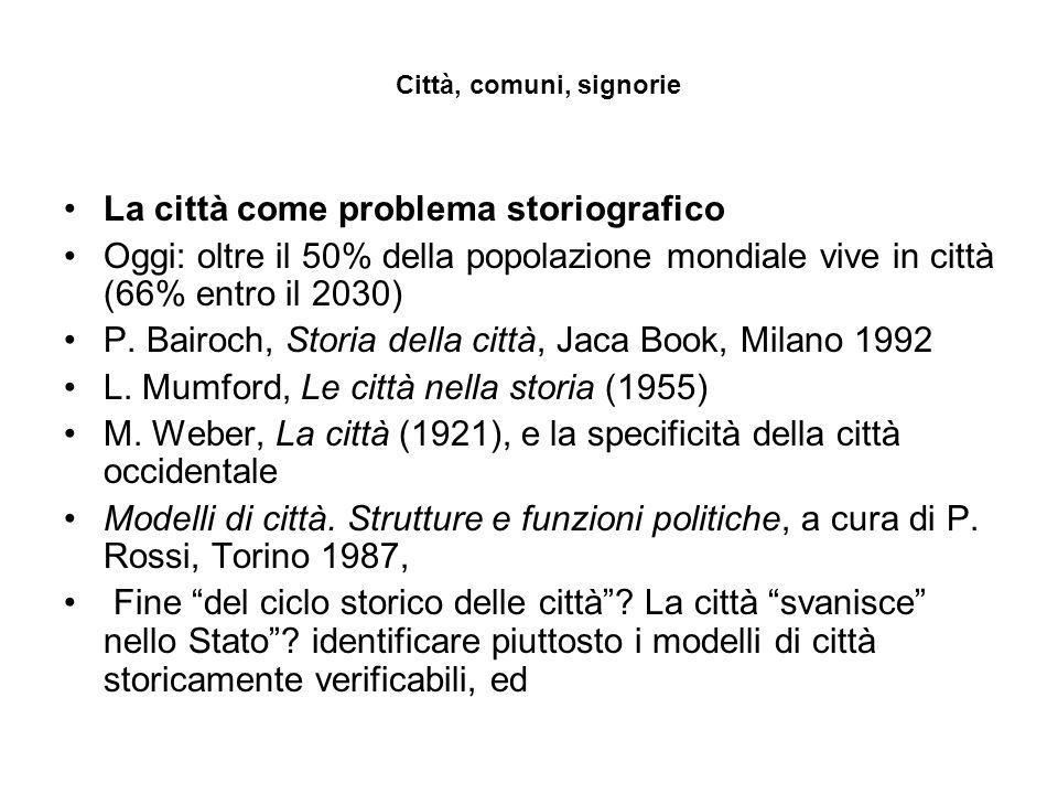 Un'Italia cittadina