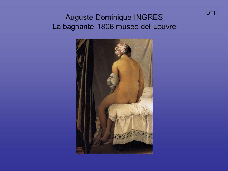 Auguste Dominique INGRES La bagnante 1808 museo del Louvre D11