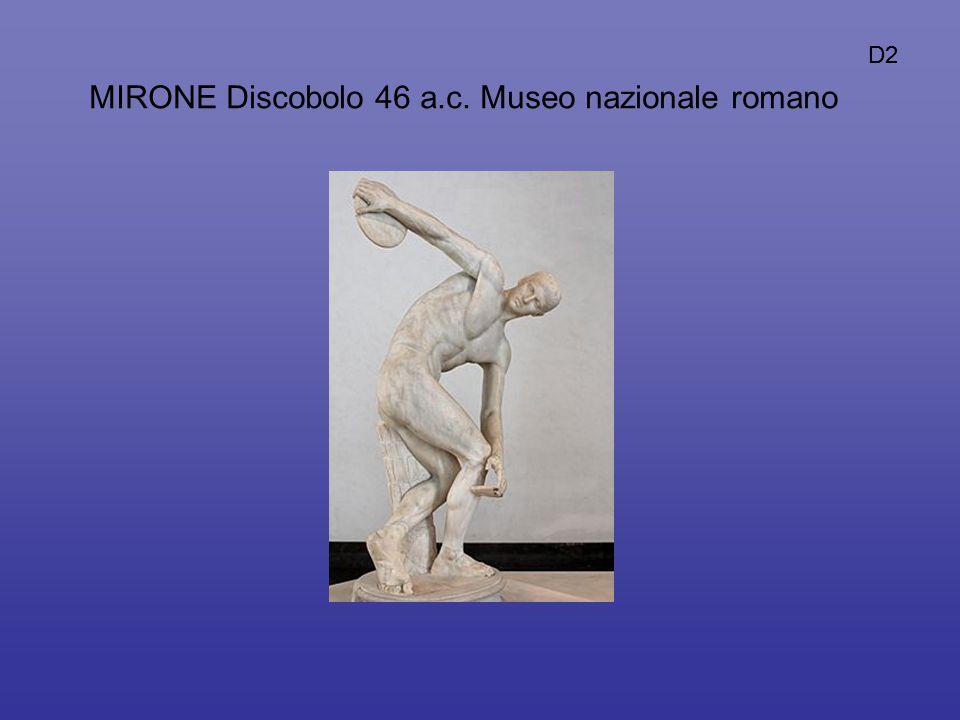 MIRONE Discobolo 46 a.c. Museo nazionale romano D2