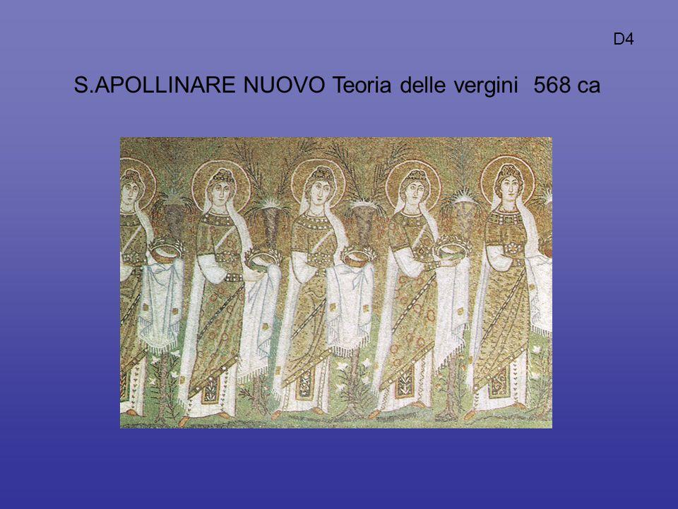S.APOLLINARE NUOVO Teoria delle vergini 568 ca D4